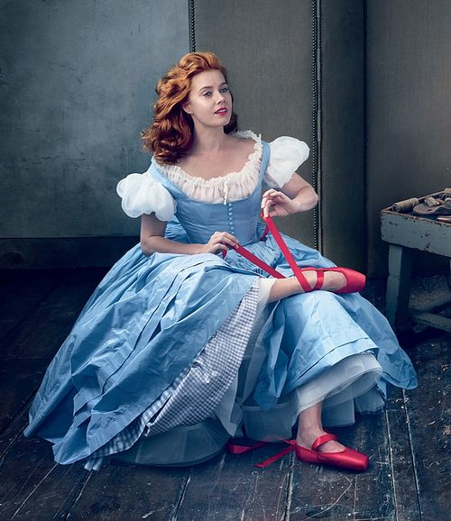 Actress Amy Adams in The Red Shoes